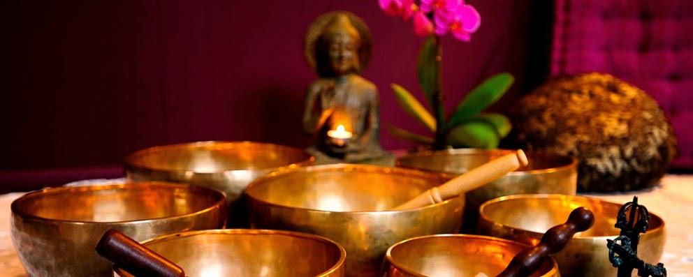 Set de Cuencos Tibetanos de siete metales.