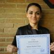Karen Muñoz, alumna de Terapias García y Lledó
